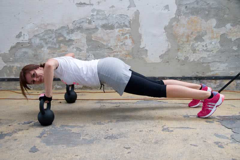 CrossFit<sup>®</sup> kettlebell