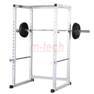 m-tech HOME BASIC erőkeret (power rack) acél, ezüstszürke