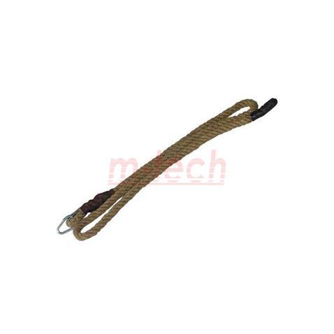 090a68ce97a1 Mászókötél kenderből (csomó nélkül), kötélszívvel és akasztó szemmel